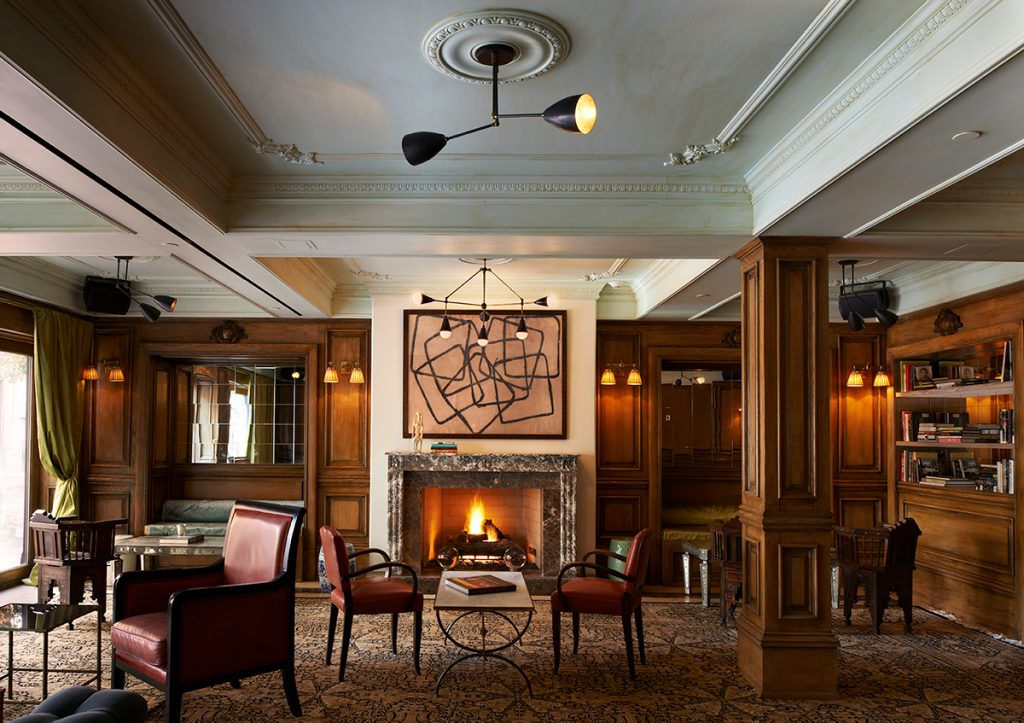 The marlton hotel lobby