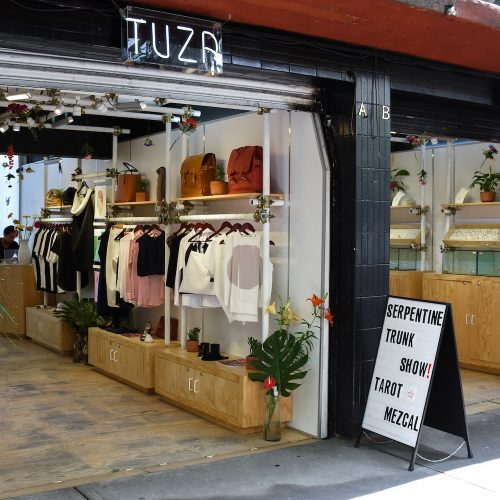 Tuza pop up store